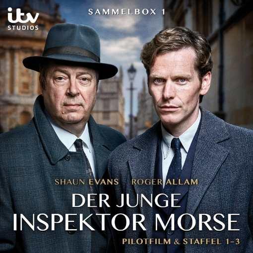 Der Junge Morse – Sammelbox 1 (Staffeln 1-3)