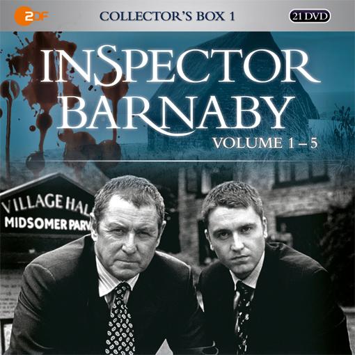 Inspector Barnaby Collectors Box 1 (Staffeln 1-5)