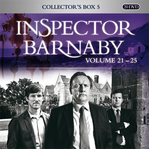 Inspector Barnaby Collectors Box 5 (Staffeln 21-25)