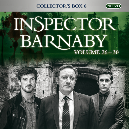 Inspector Barnaby Collectors Box 6 (Staffeln 26-30)